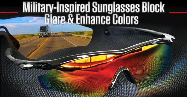 2e494f083c The tactical sunglasses that boost visual clarity