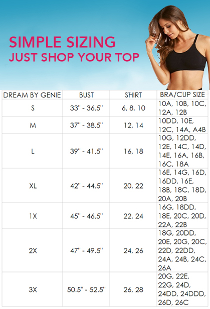 Dream By Genie Bra Buy 1 Get 2 More