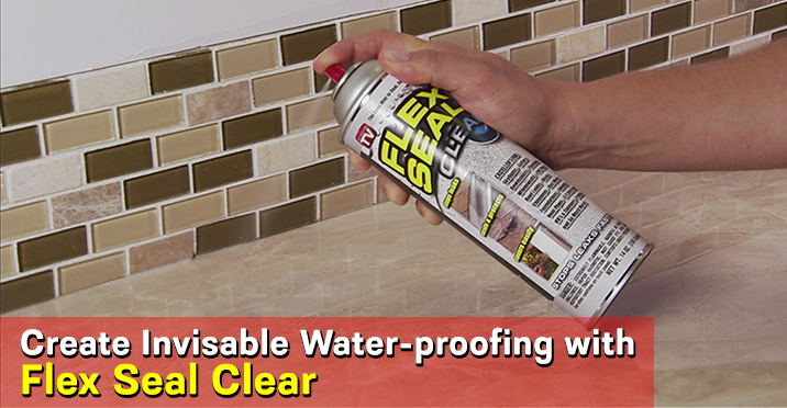 Flex Seal Liquid Rubber In A Spray Can Available In Black White And Clear