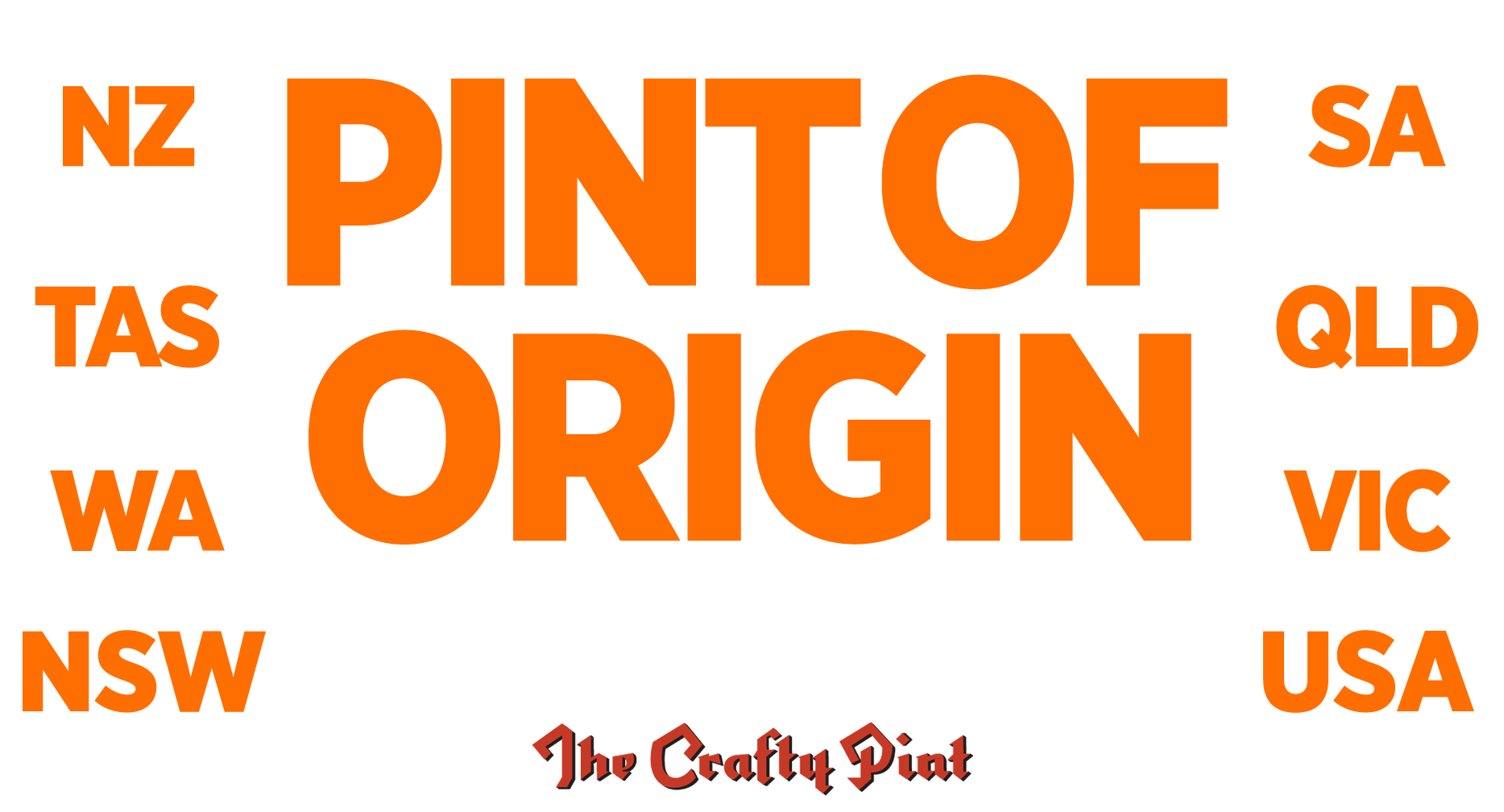Pint Of Origin - Regional Victoria