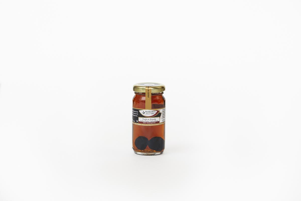Manjares De La Tierra Black Truffle in Brandy 80gm