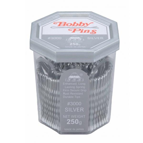 555 Bobby Pins 2 inch Silver 250g