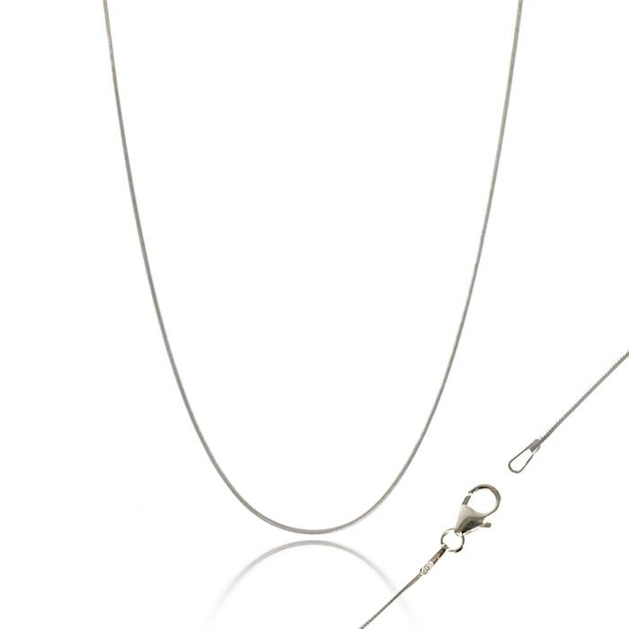 Italian Sterling Silver Snake Chain Large