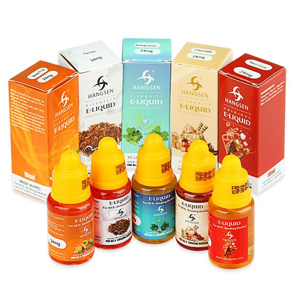 [New Package] 10ml Hangsen PG+VG E-Juice E-Liquid with 63 Flavors(0mg/ml