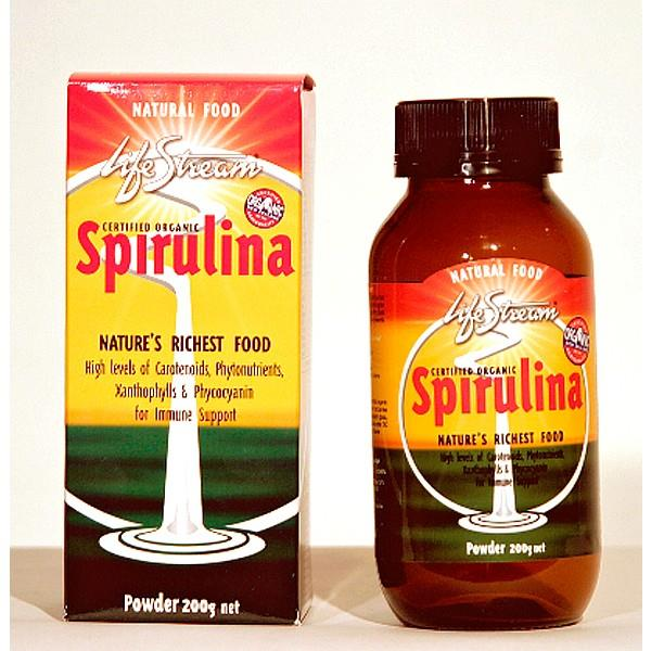 LifeStream Organic Spirulina Powder
