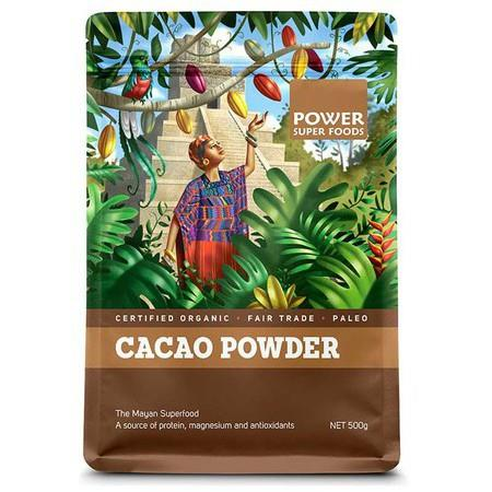 Power Super Foods Cacao Powder - *Large Bag* 500g