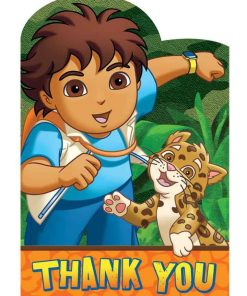 Diego Thank You Cards Pack of 8