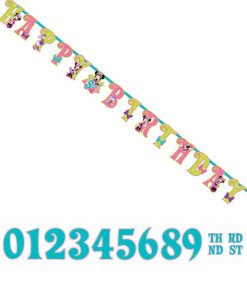Minnie Mouse Jumbo Add an Age Banner