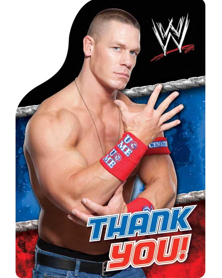 WWE Thank You Postcards Pack of 8