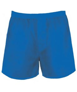 Blue Mens Boxer Shorts