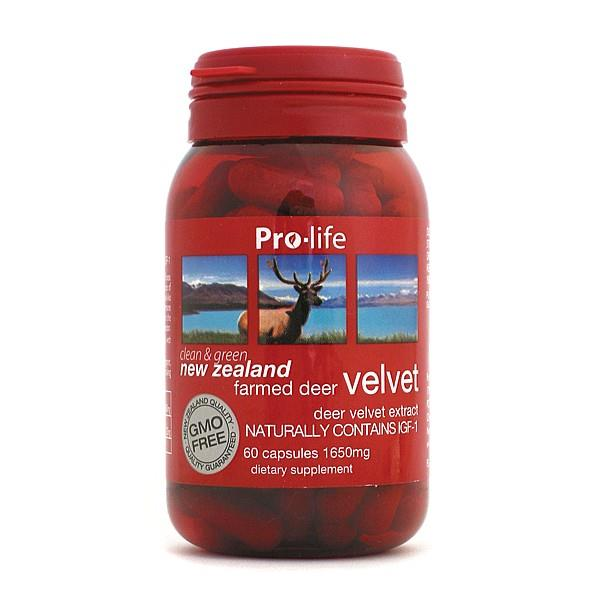 Pro-life NZ Farmed Deer Velvet 1650mg