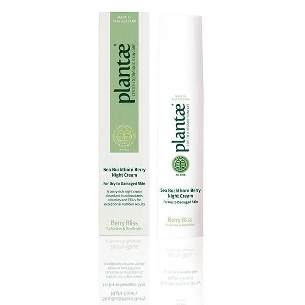 Plantae Sea Buckthorn Berry Night Cream - Berry Bliss Collection