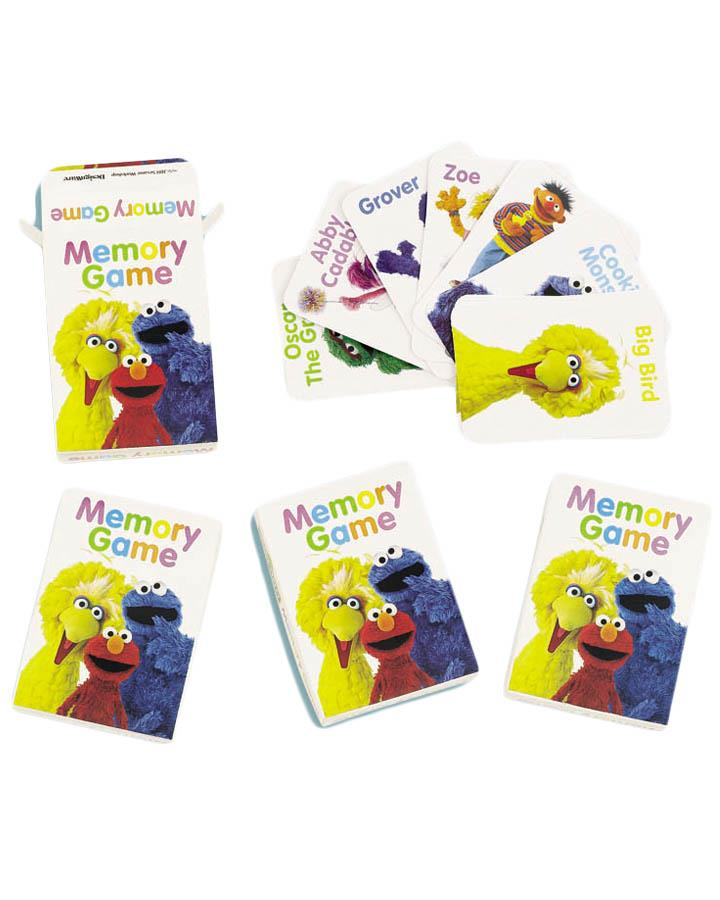 Sesame Street Memory Game Favours Pack of 4