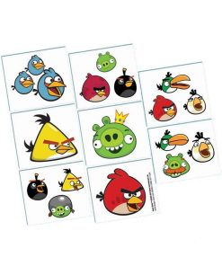 Angry Birds Temporary Tattoo Favours