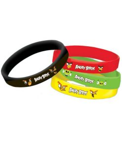 Angry Birds Wristband Favours Pack of 4