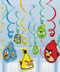 Angry Birds Swirl Decoration Pack