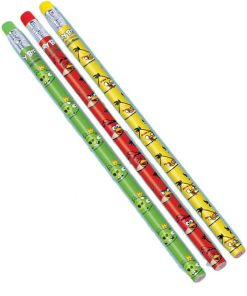 Angry Birds Pencil Favours Pack of 12