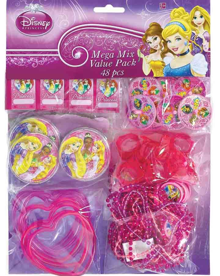 Disney Sparkle Princess Favours Pack of 48