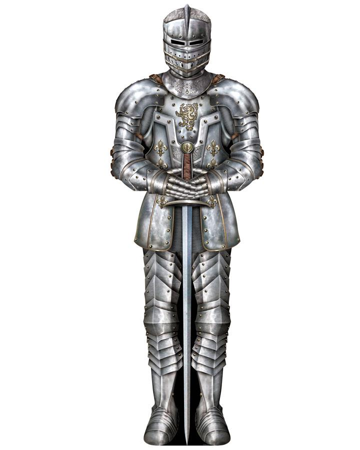 Jointed Medieval Knight Suit of Amour Cutout