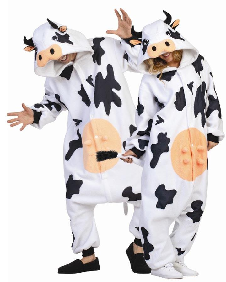 Casey the Cow Funsie Adult Costume
