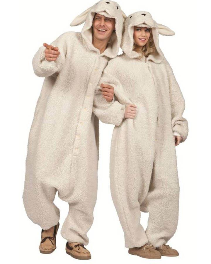 Ollie Sheep Funsie Adult Costume