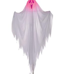 122cm Light Up Ghost On A Post