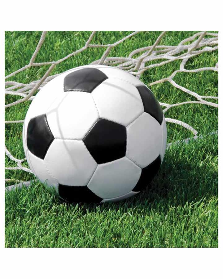 Soccer Lunch Napkins Pack of 18