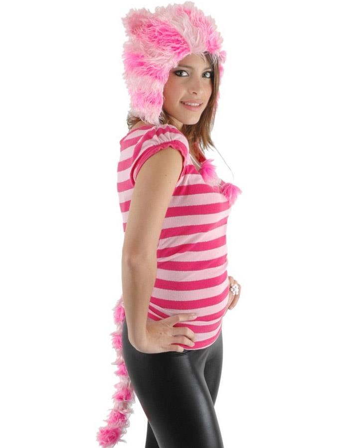 Alice in Wonderland Cheshire Cat Hat and Tail Set