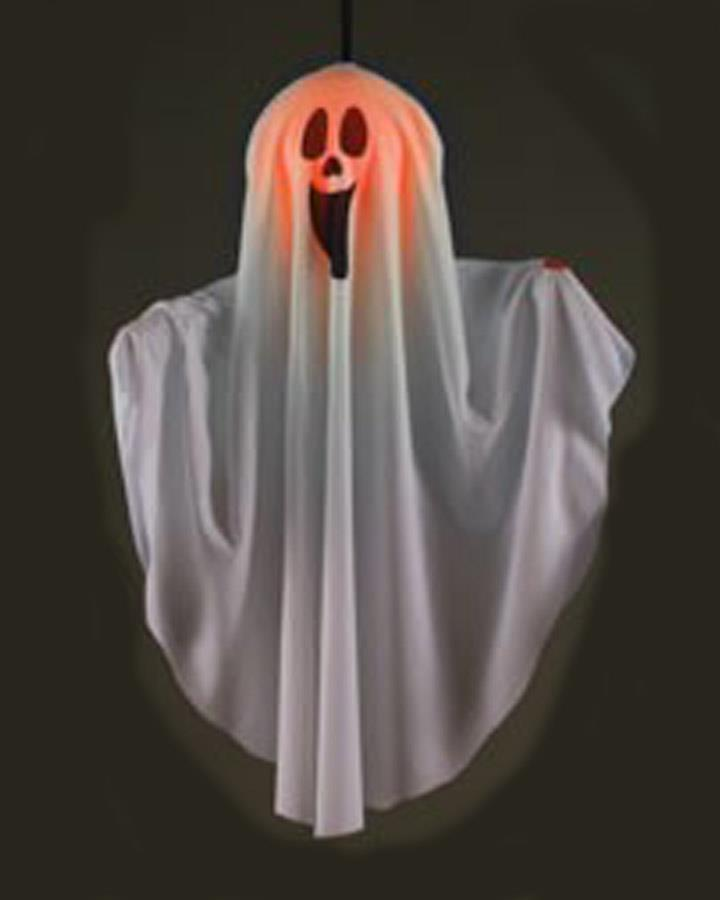 51cm Hanging Silly Smile Ghost Prop