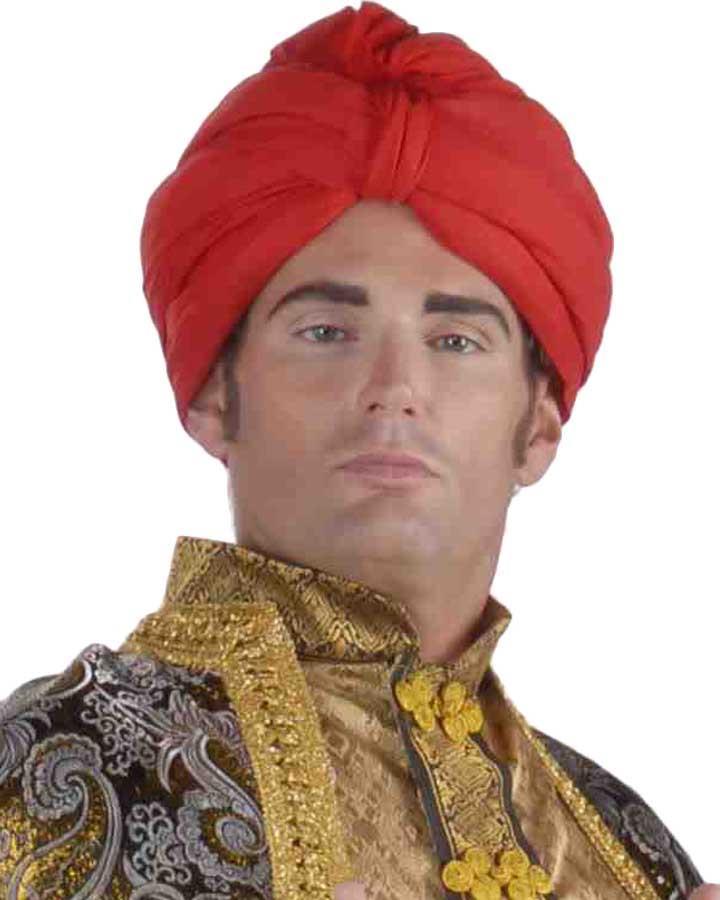Deluxe Red Turban