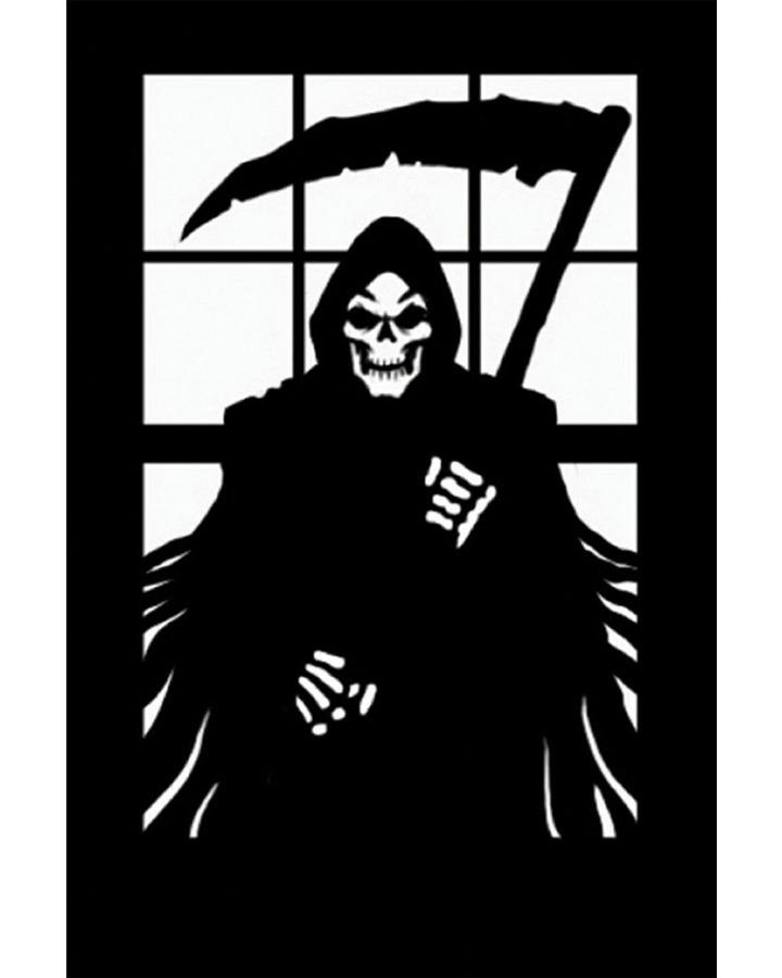 Reaper Scary Silhouette Decoration