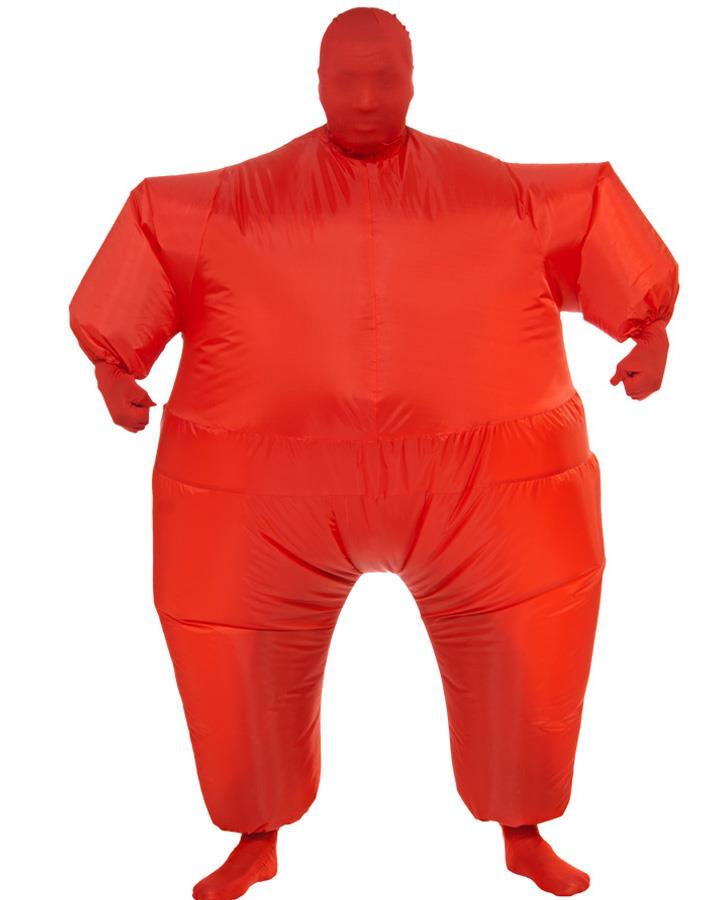 Red Inflatable Mens Costume