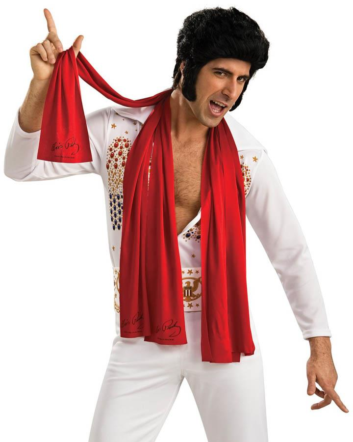 3 Pack Red Elvis Scarves