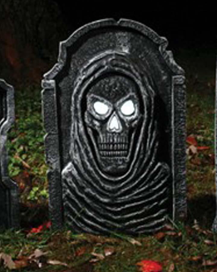 LED Reaper Tombstone 54cm