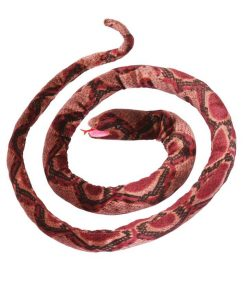 152cm Red and Black Jungle Snake