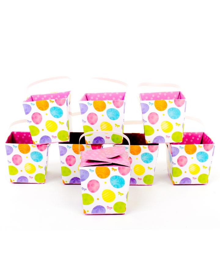 Easter Eggs Favour Boxes Pack of 8