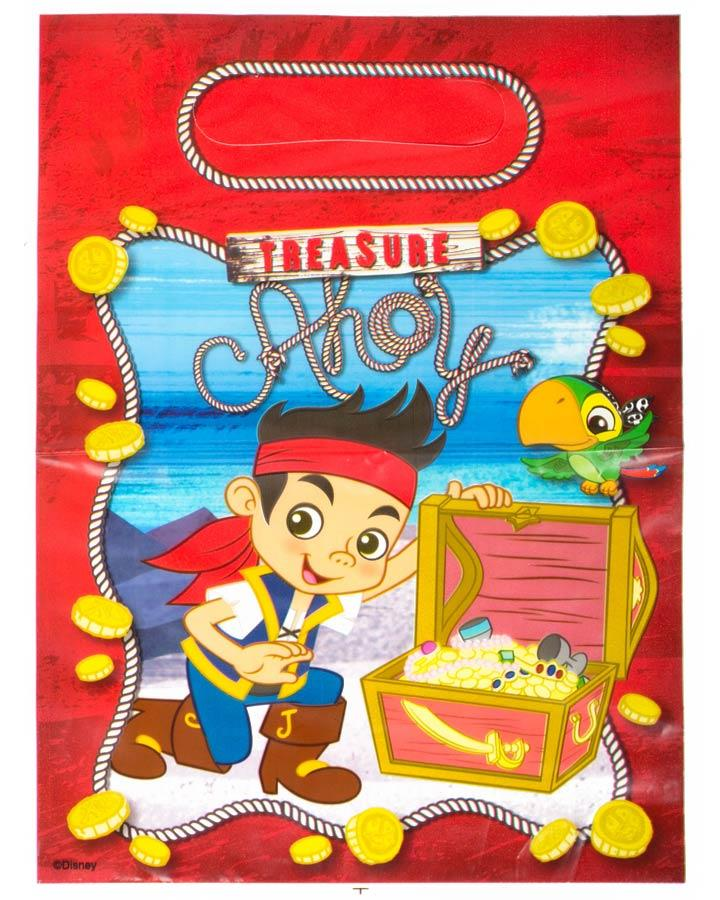 Jake and the Neverland Pirates Lolly Bags Pack of 8