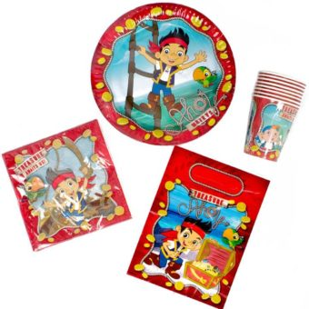 Jake and the Neverland Pirates 40 Piece Party Pack for 8