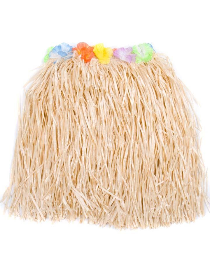 43cm Hawaiian Natural Grass Skirt