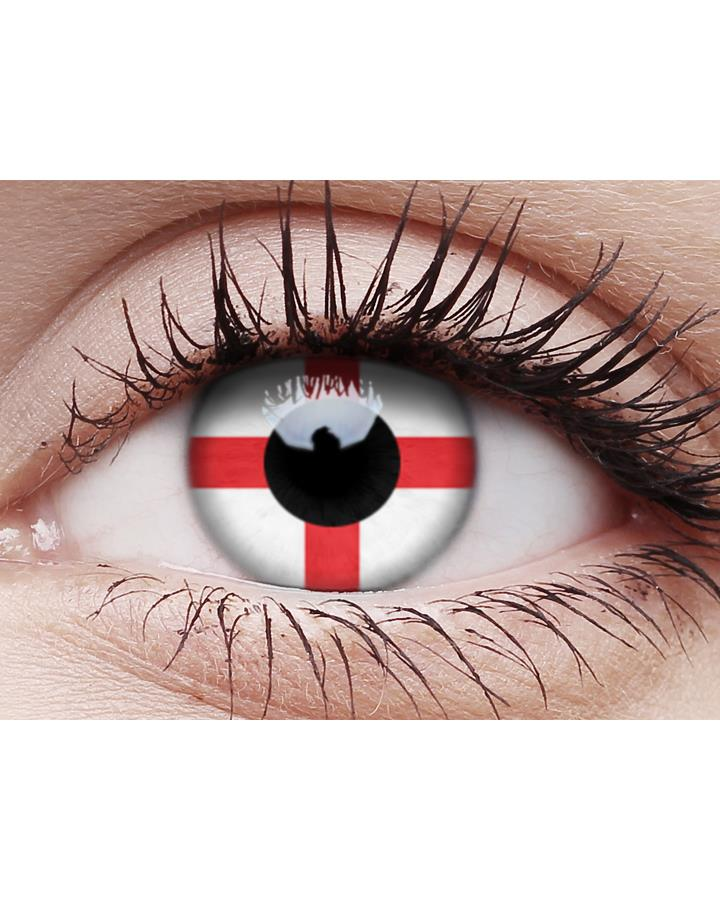 George Cross English Contact Lenses and Case