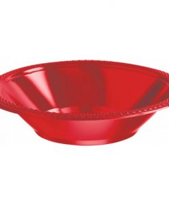 Apple Red 355mL Party Bowls Pack of 20