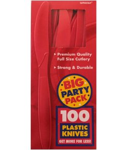 Apple Red Knives Pack of 100