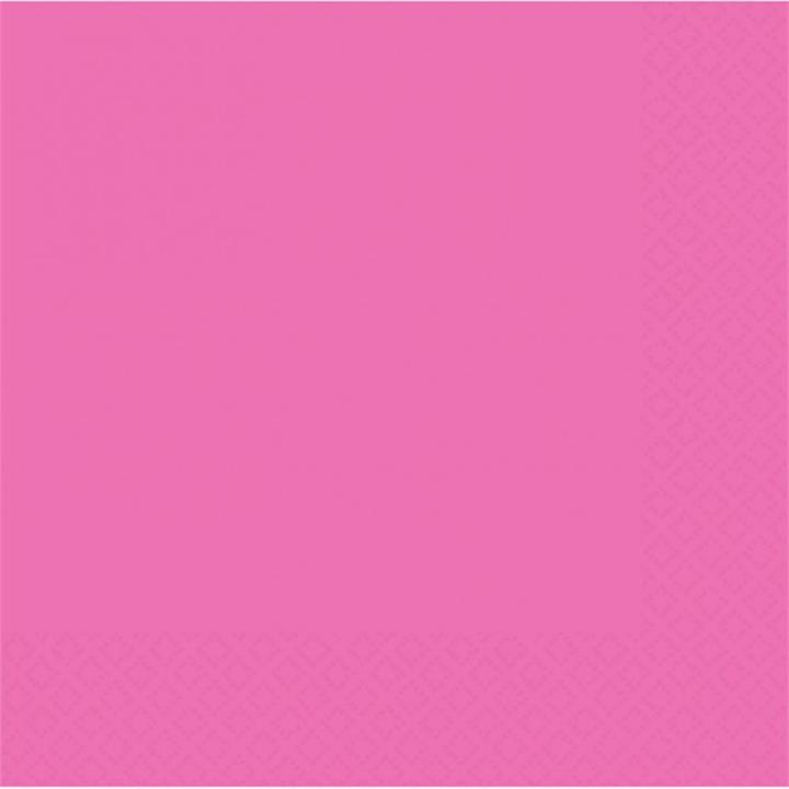 Bright Pink Lunch Napkins Pack of 20