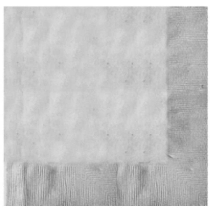 Silver Lunch Napkins Pack of 20