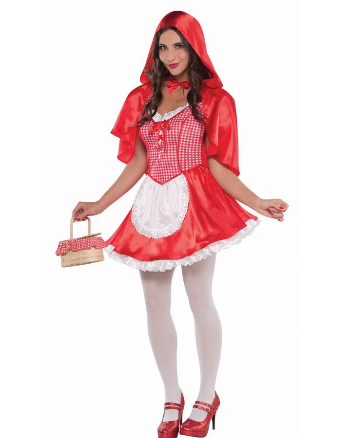 Red Riding Hood Womens Costume