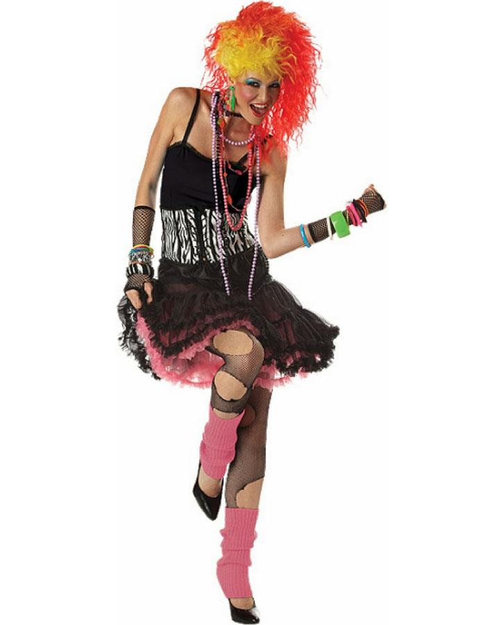 80s Party Gal Womens Costume