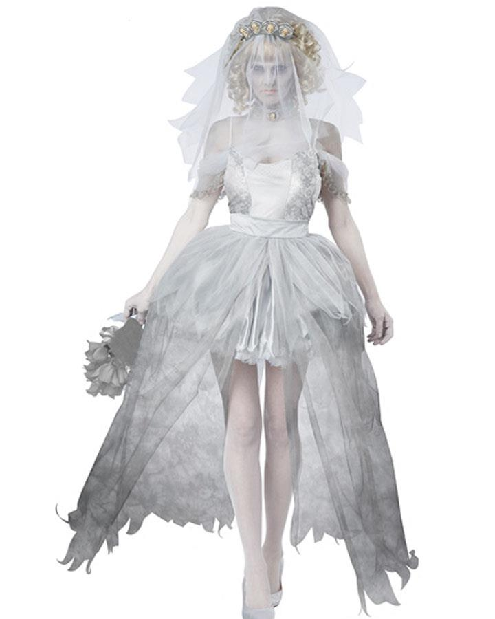 Ghostly Bride Womens Costume