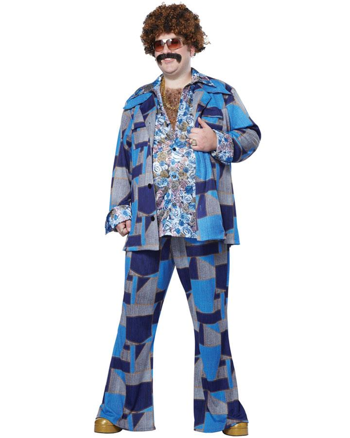 Boogie Nights Mens Plus Size Costume