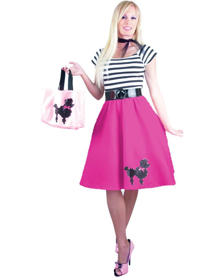 50s Poodle Womens Costume