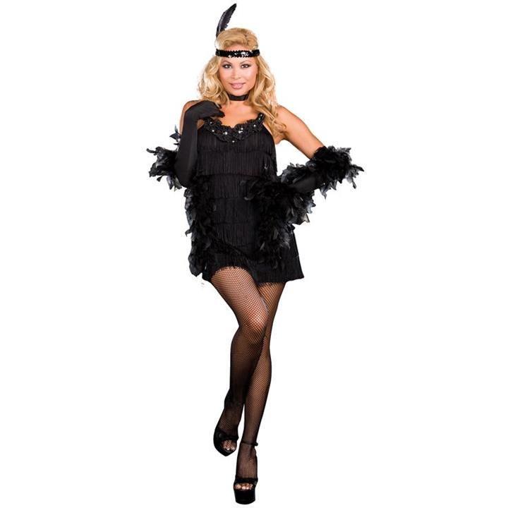 All That Jazz Flapper Womens Plus Size Costume